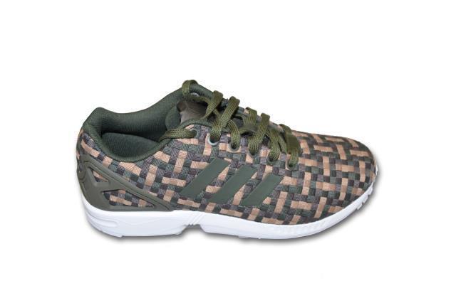 b9c2ab6ea Mens adidas ZX Flux Camouflage Textile Trainers S78348 UK 7.5   EUR 41 1 3  for sale online