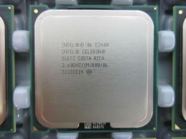 Intel Celeron E3400 2.6 GHz Dual-Core (SLGTZ) Processor