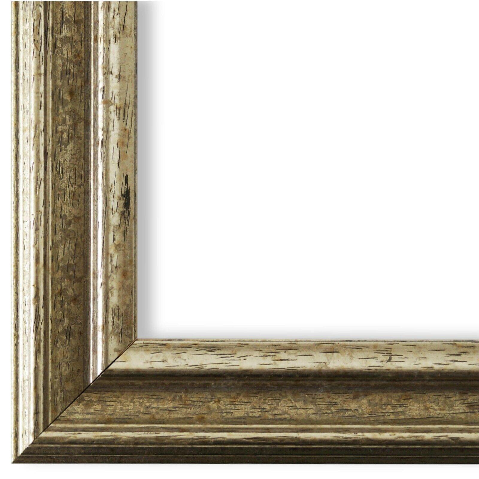 Bilderrahmen Forli Silber - 40x60 40x80 50x50 50x60 50x70 50x100 60x60