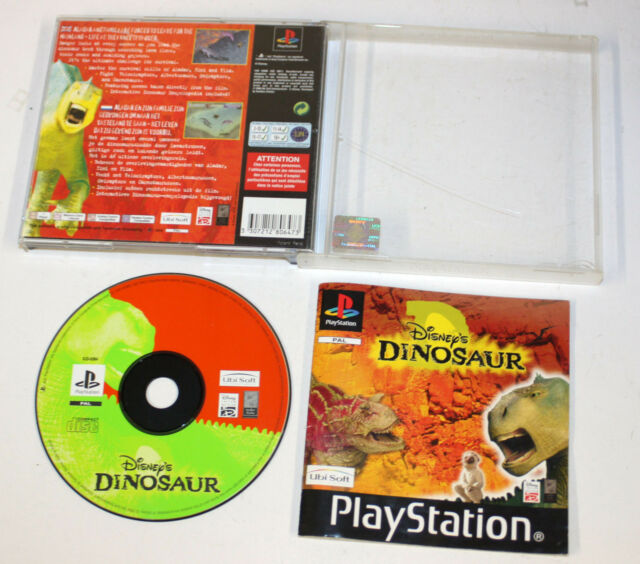 Dinosaur (Sony PlayStation 1, 2000) FREEPOST 3307212806473