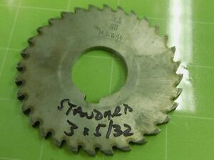 """Face /& Side 4""""x1//4"""" HSS THURSTON Mill Cutter Great Condition!"""