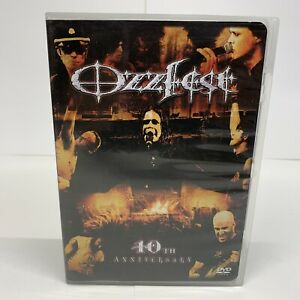 Ozzy-Osbournes-Ozzfest-10th-Anniversary-DVD-And-CD-Free-Shipping-Nice-Condition