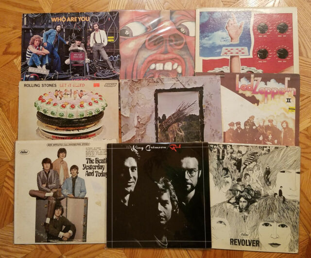 Classic Rock, And Heavy etc...  Lot Of 3LP's  Vinyl Albums