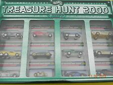 Mint 2000 Treasure Hunt 6th Anniversary Limited Edition Set of 12 Hot Wheels