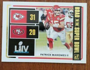 2020-Donruss-Patrick-Mahomes-II-Road-To-The-Super-Bowl-Kansas-City-Chiefs