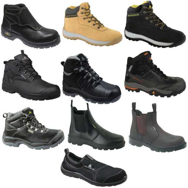 d657059818b Delta Plus Safety Work Boots Shoes Trainers Hiker (Various Styles) Black Tan