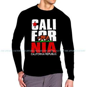 Image Is Loading New Men 039 S California Republic Long Sleeve