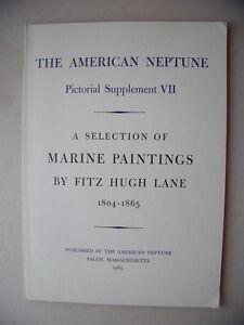 American-Neptune-Pictorial-Supplement-VII-Marine-Painting-1965-F-Hugh-Lane