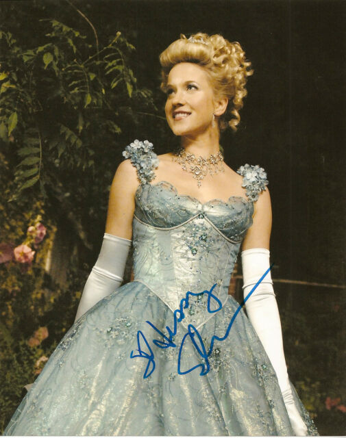 Once Upon A Time Cinderella Jessy Schram Signed Autographed 8x10 COA