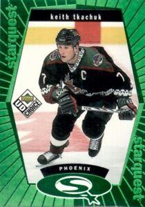 1998-99 UD Choice Hockey StarQuest Green #SQ30 Keith Tkachuk Phoenix Coyotes
