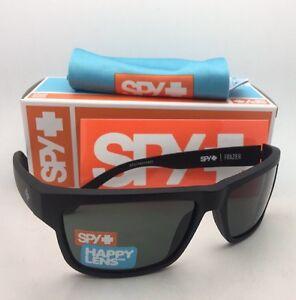 ae38891bfc New SPY OPTIC Sunglasses FRAZIER Matte Black Frames with Happy Grey ...