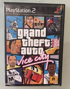 GTA Grand Theft Auto: Vice City (Sony PlayStation 2 PS2) Video Game - No Map