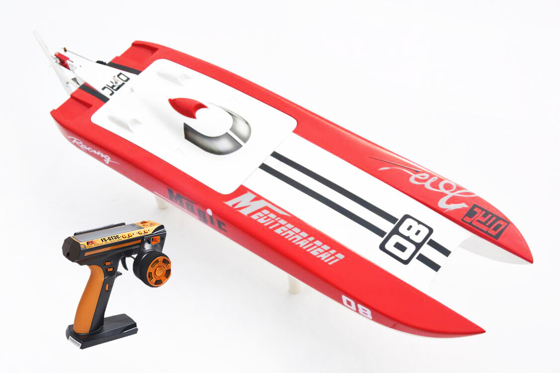 DT E32 Germany Cat 75km h rosso Electric RC RTR Speed Boat With Motor ESC Servo