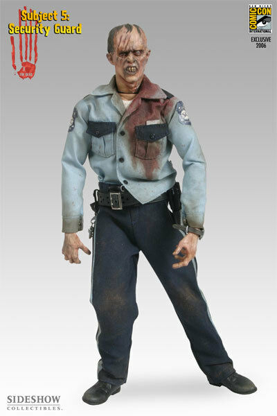 NEW Sideshow Collectibles The Dead- Security Guard