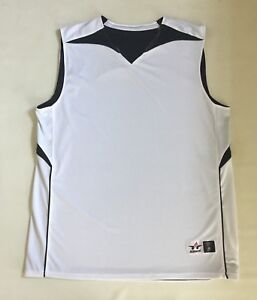 6505cb16c25 Image is loading ALLESON-ADULT-MENS-REVERSIBLE-BASKETBALL-JERSEY-SHIRT-SIZE-