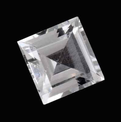 3x3mm-12x12mm Natural Sky Blue Topaz AAA Square Princess Cut Loose Gemstones
