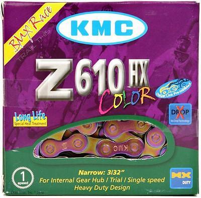 Z610HX 1-Speed Chain Heavy duty 3//32/'/' single speed chain Neo Chrome