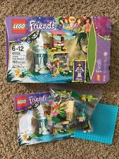 Lego 41033 Jungle Falls Rescue Friends Set Complete