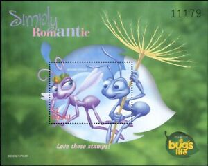 Palau-1998-034-BUG-039-S-LIFE-034-DISNEY-FILM-CINEMA-ANIMAZIONE-INSETTI-1v-M-S-ad1028