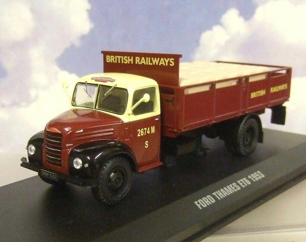 Ixo 1 43 D   Cast Ford Thames ET6 Camión   Br Británico Rail Railways 1953