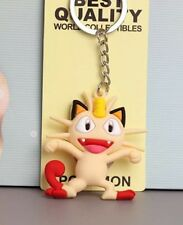 Pokemon Meowth Rubber Keychain 2 Inches US Seller