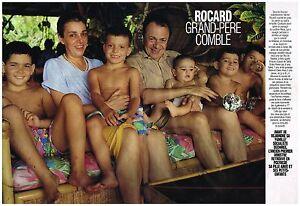 à Condition De Coupure De Presse Clipping 1992 (4 Pages) Michel Rocard ProcéDéS De Teinture Minutieux