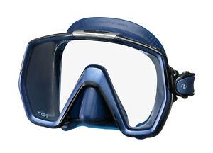 Tusa Freedom HD Mask Scuba Diving FreeDiving Snorkeling Indigo M-1001QID-ID