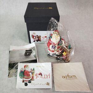 Jolly-Holiday-Jeweled-Objet-D-039-Art-531-TRINKET-BOX-NIB