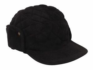 Mens-Fleece-Baseball-Cap-Trapper-Winter-Hunting-Warm-Ear-Warmers-Neck-New
