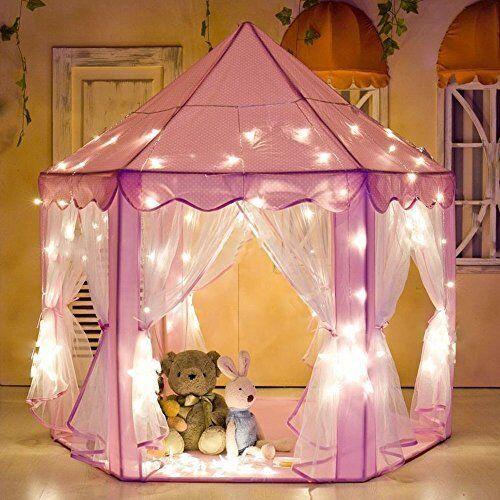 E-joy Kids Kids Kids Indoor Outdoor Play Fairy Princess Castle Tent, Portable Fun Perfect f3bd5f