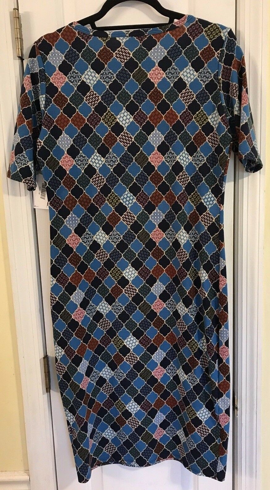 NWT NWT NWT LULAROE JULIA M TEAL blueE, NAVY, RED & LINDSAY M RED HEATHERED OUTFIT, WOW  dd33a6
