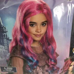 Girls Celia Reddish Brown Wig Descendants 3 One Size Halloween Accessory