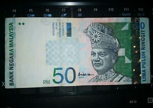 Malaysia-RM50-Sign-ALI-Center-BK1475627-Used-Banknote