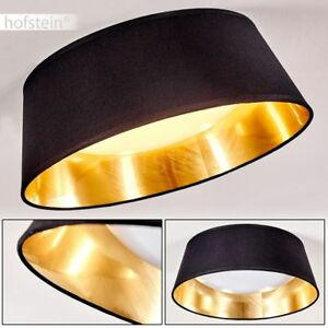 Details zu LED Deckenleuchte Deckenlampe Schlafzimmer Leuchte Lampe Negio  schwarz-gold