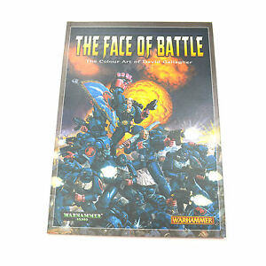 The-Face-of-Battle-The-Colour-Art-of-David-Gallagher-Paperback-book-warhammer