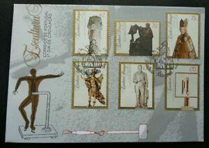 SJ-Portugal-Sculpture-1993-Art-Culture-stamp-FDC