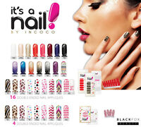 It's A Nail By Incoco Accent Nail Polish Strip 4 Strips 16 Double-ended Strips