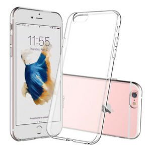 For-Apple-iPhone-6S-Case-Clear-Slim-Transparent-Soft-TPU-Bumper-Cover-Skin-Back