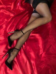 Heels Hot Éscarpins Sangle Couture Cheville Leather High Cq Pompes Schuhe 8w1Xqx