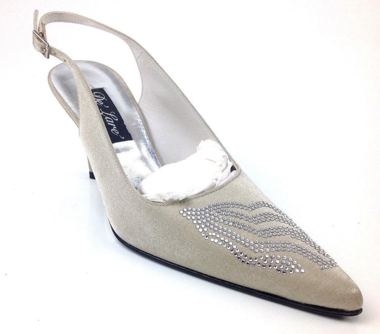 Stuart Weitzman Women's  Dazzling  Heels color Oyster Sparkle Size US 6.5 C