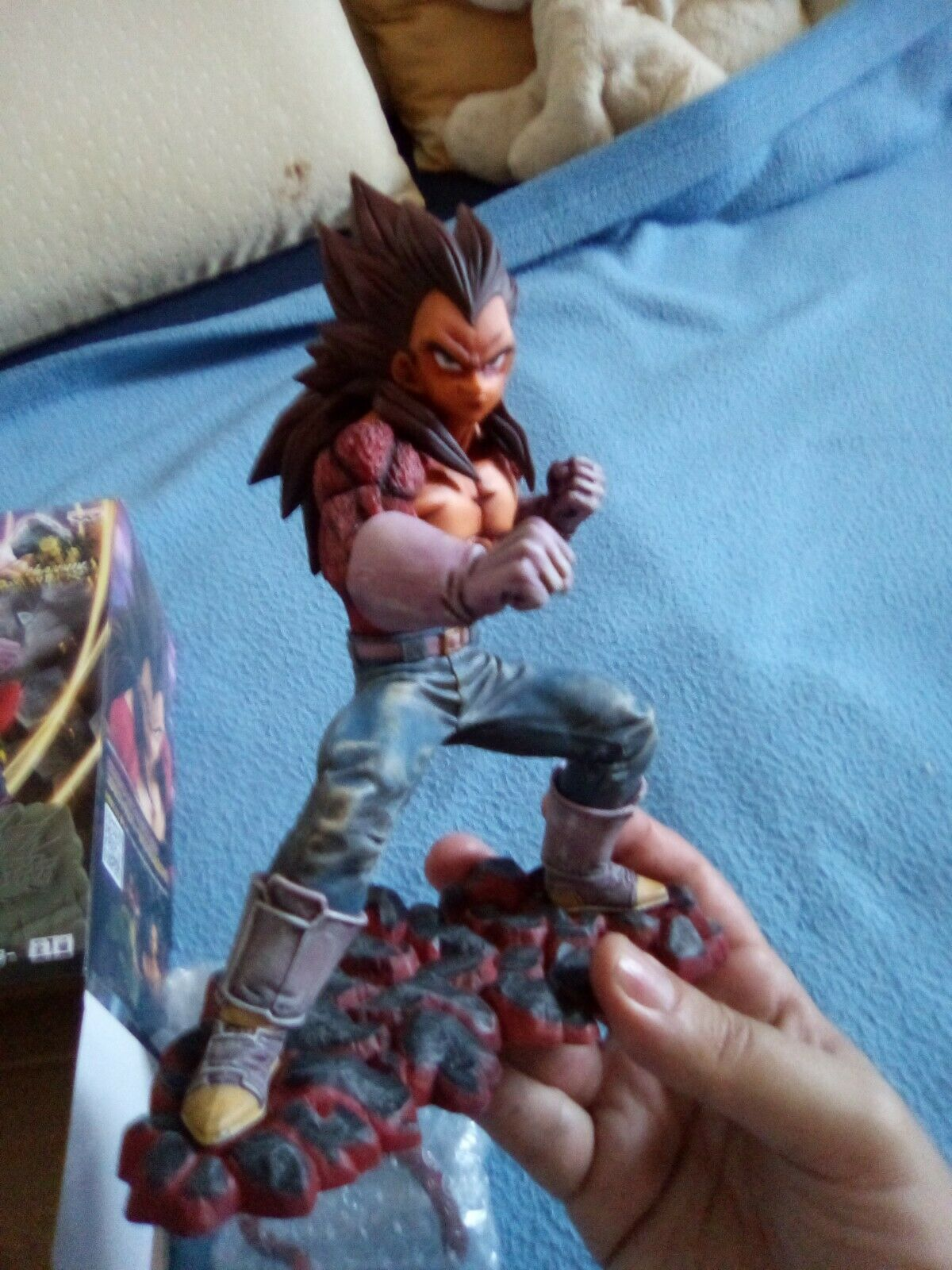 Figurine Vegeta SSJ4  Dokkan Battle par Banpresto - Dragon Btutti GT cifra repeint  spedizione veloce a te
