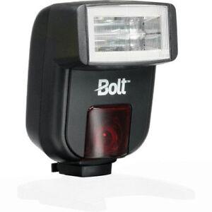 USED-Bolt-VS-260-Mini-On-Camera-Flash-For-Pentax-Samsung-TTL-Free-Shipping