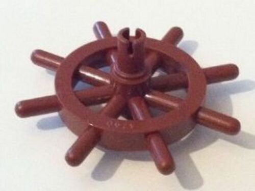 LEGO Brown Ship/'s Wheel with Slotted Pin Boat