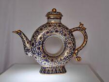 Rare Ornate Porcelain Noritake? Decanter with Dragon Handle