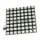 WS2812 8x8 64 LED Matrix LED 5050 RGB Full-Color Driver Black Board for Arduino