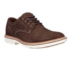 Timberland Men s Naples Trail PT Oxford Dark Brown Shoes NIB A17FQ ... 40736041208