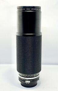 RARE-Objectif-Tele-Zoom-NIKON-AI-S-Nikkor-100-300mm-f-5-6-UV-Skylight-VIVITAR