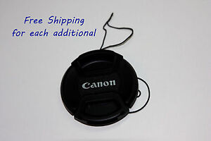 58mm-Front-lens-cap-Center-pinch-leash-for-Canon-EOS