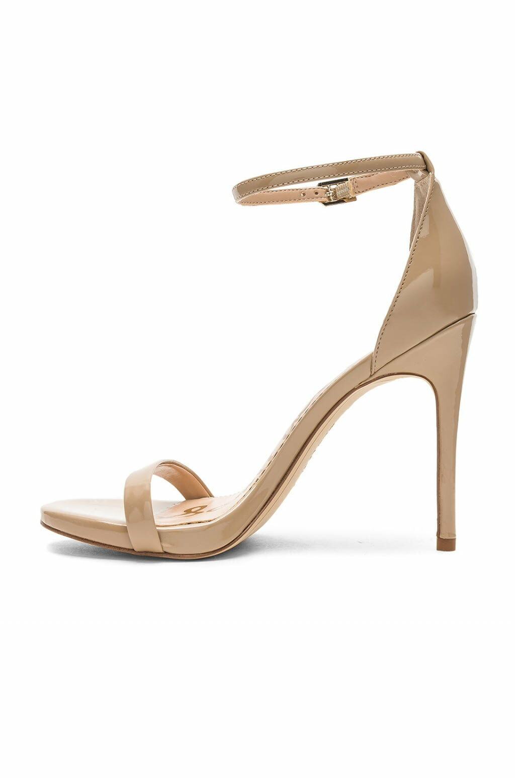 Sam Edelman NADYA Patent Leather Ankle Ankle Ankle Heel Sandal schuhe Classic Nude 10.5 New 69baf9