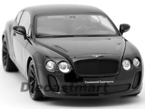 WELLY 18038 BENTLEY CONTINENTAL SUPERSPORTS COUPE 1//18 DIECAST GREY